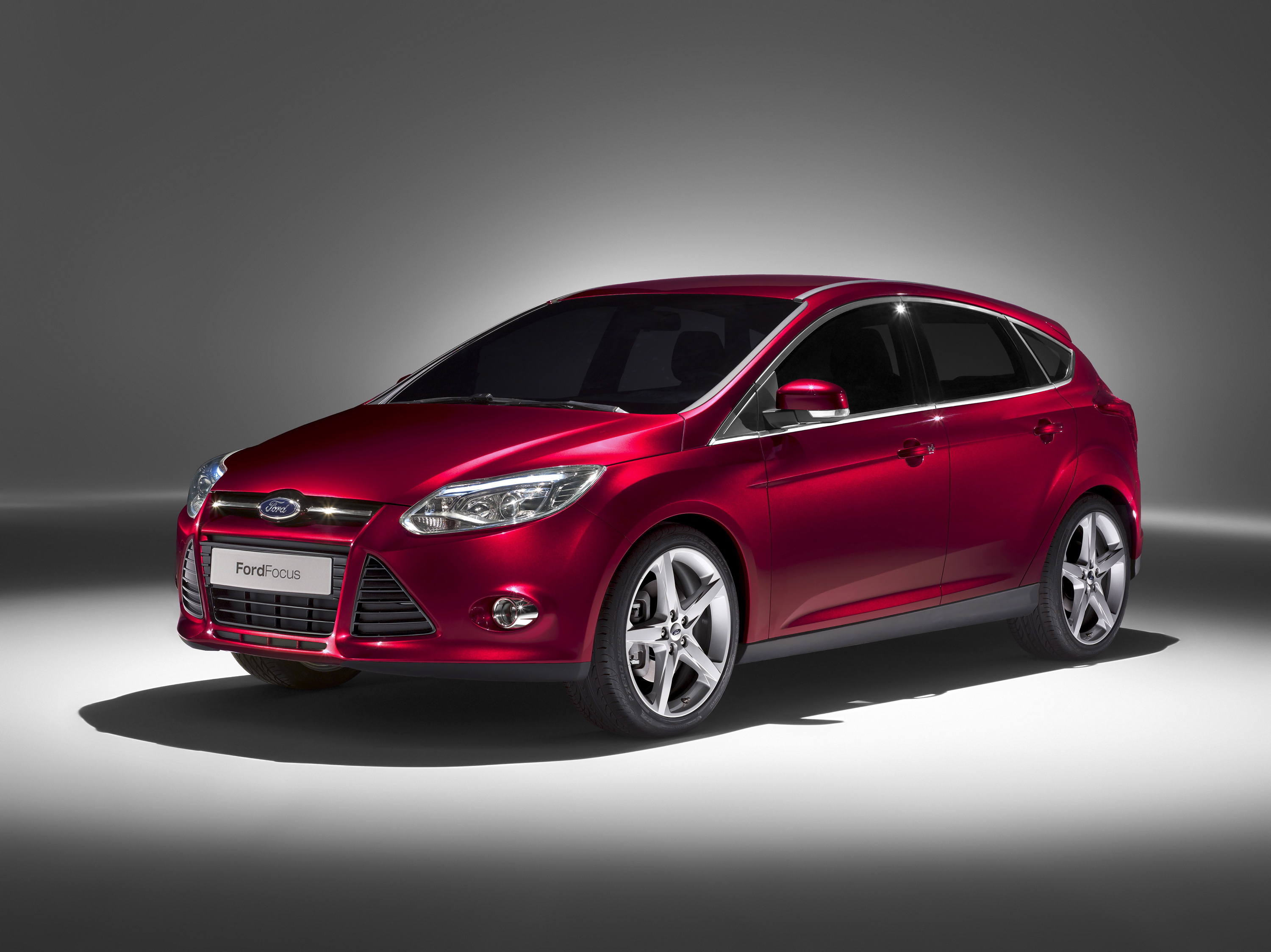The next-generation Ford Focus hatchback, revealed at the 2010 North American International Auto Show. (01/11/2010)